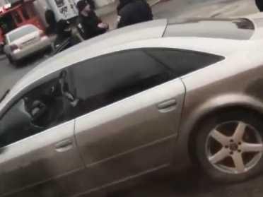 В мережі з'явилося відео з місця затримання Рівненського водія-втікача