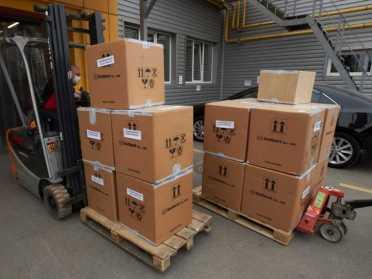 До України прибуло 100 тисяч корейських ПЛР-тестів для виявлення коронавірусу