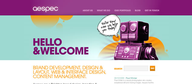 Vibrant Colors in Web Design