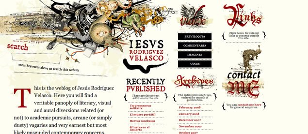 Jesus Rodriguez Velasco - Awesome Blog Designs