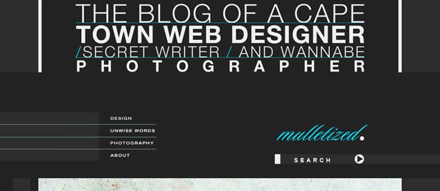 Brendon Grobler - Awesome Blog Designs