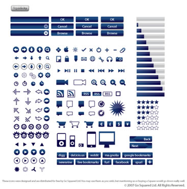 165 Vector Icons in 5 Colours (.ai, .jpg and .svg)
