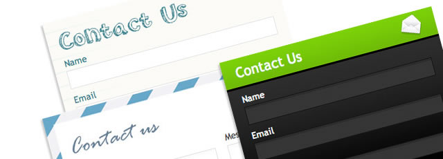 5 Uniquely Coded Web Form Styles