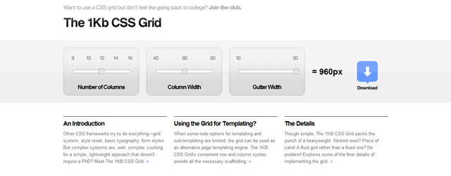 The 1KB CSS Grid