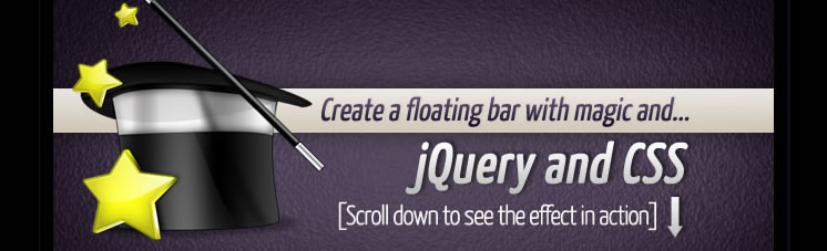 Floating Social Bar with jQuery and CSS