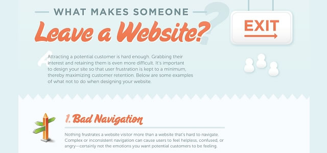 What Makes Someone Leave A Website?