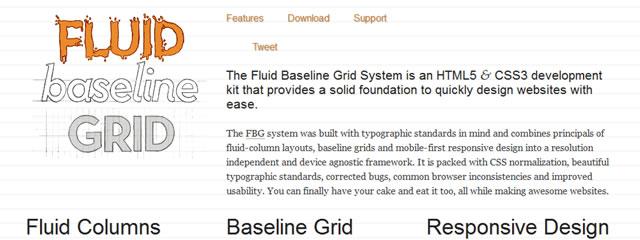 Fluid Baseline Grid