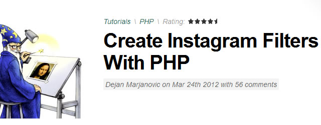 Create Instagram Filters With PHP