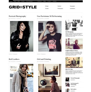 Grid Theme Responsive