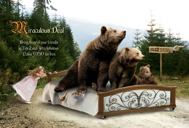 25 Creative Examples of Fairy Tale Advertisements