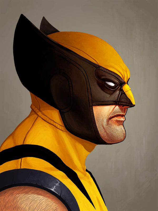 X Men Animated Series Wallpaper The Marvel Character Portrait Poster Series