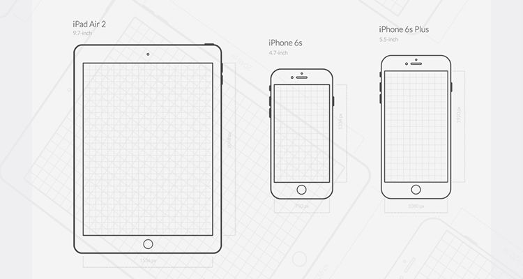 iOS UX png eps illustrator vector svg ios iphone ipad mobile app free wireframe kit template UI design