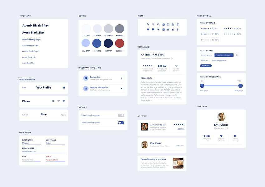 Free UI Elements for Mobile Apps