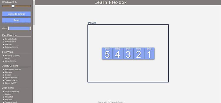Learn Flexbox