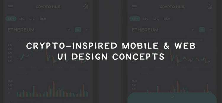 Crypto-Inspired Mobile & Web UI Design Concepts