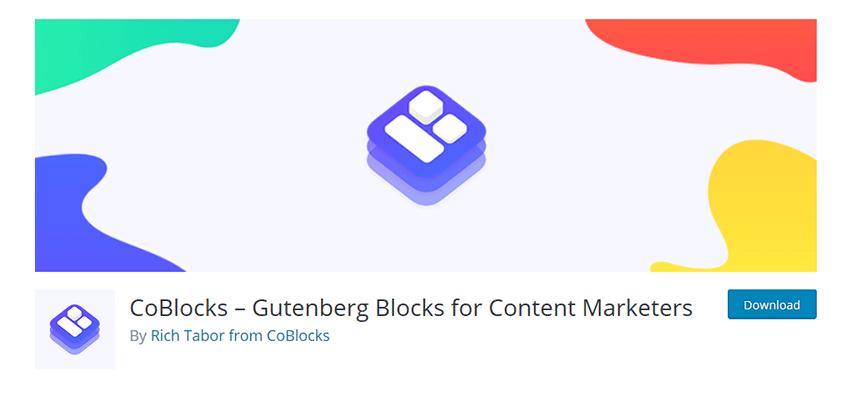 CoBlocks – Gutenberg Blocks for Content Marketers