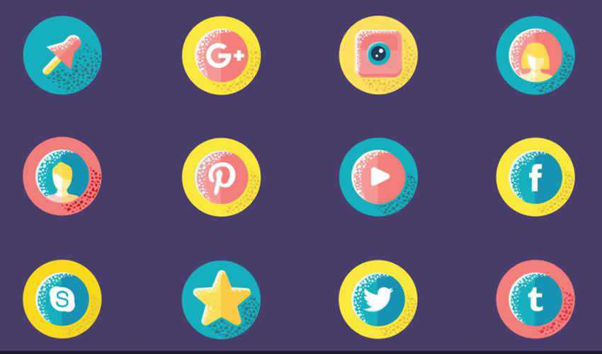 Social Media ae adobe after effects template motion design project files video movie icon animation type