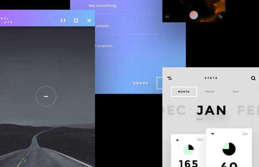 Relate Clean Simple sketch mobile app ui kit sketch ux format free design creative sketch.app