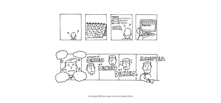 Using Comic strips and Storyboards to test your UX Concepts