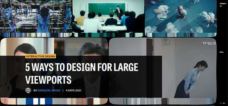 5 Ways to Design for Large Viewports