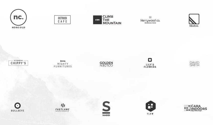 Free Collections of Minimally Designed Logo Templates (100