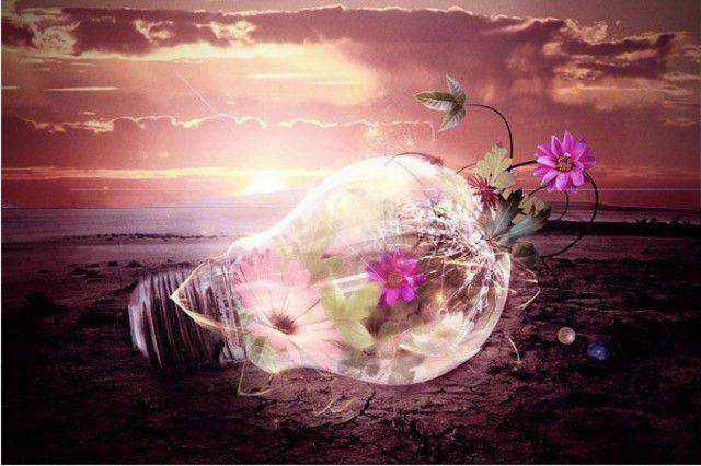 Inspiring Light Bulb Photo Manipulation tutorial in Photoshop