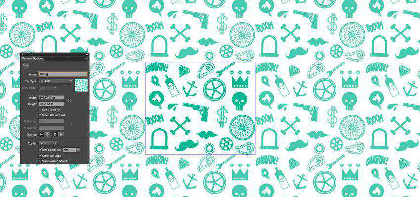 How to Create Seamless Repeating Patterns adobe illustrator tutorial