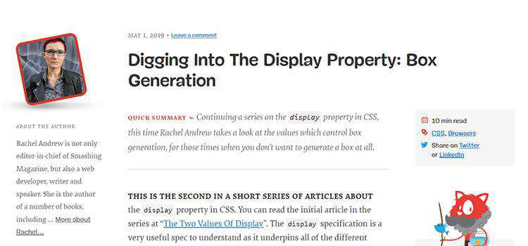 Digging Into The Display Property: Box Generation