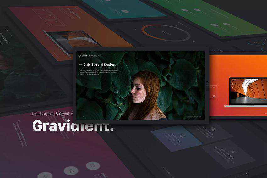 Gravidient Powerpoint Template