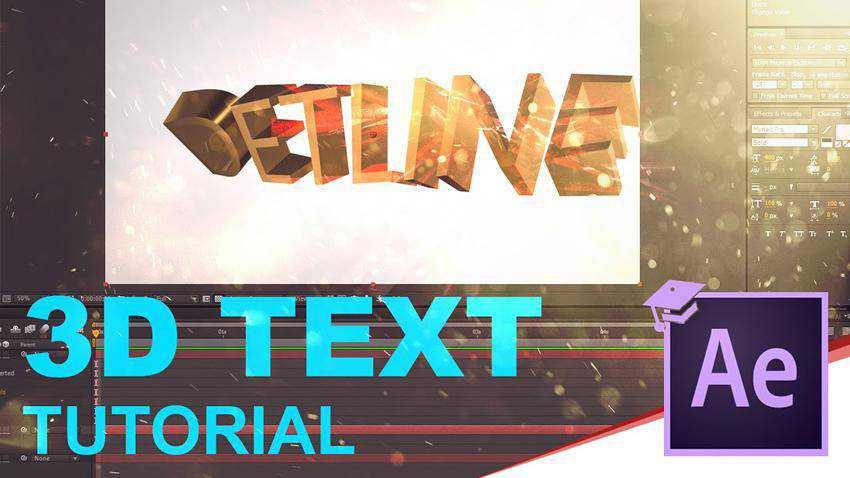 Three Ways to Create 3D Text in After Effects