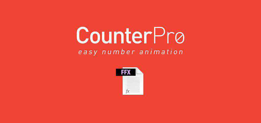 CounterPro Preset Count & Animate Numbers