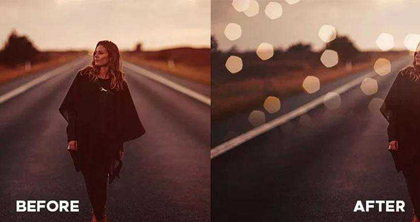 Bokeh Photo Overlays Photography Effects