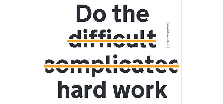 New Design Principles posters