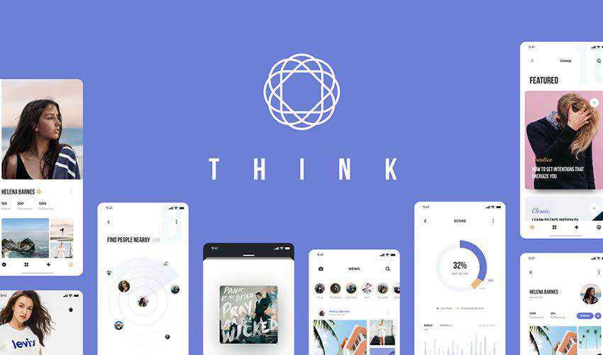 Think Mobile figma ui mobile kit