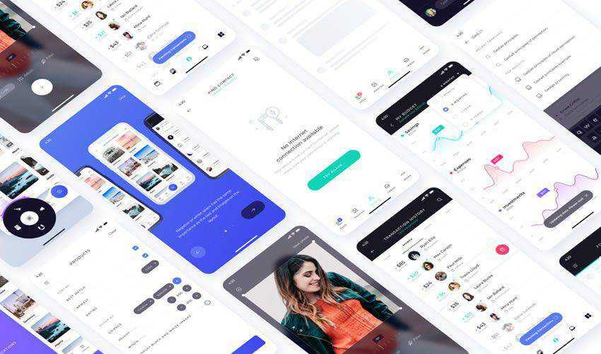 Atro free figma ui mobile kit