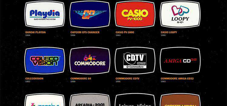 Example from Video Game Console Logos