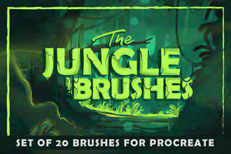 Jungle Brushes