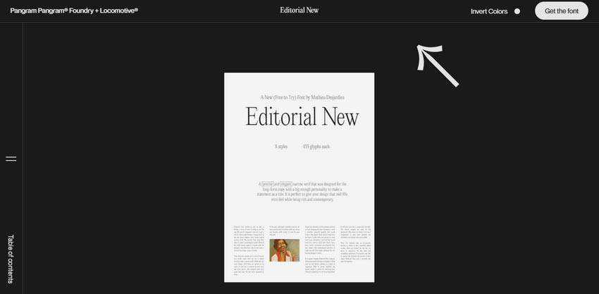 Example from Editorial New
