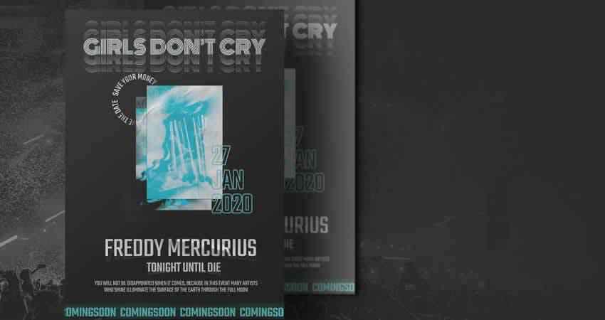 music event concert flyer templates