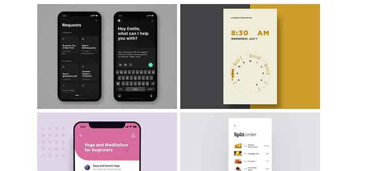 Example from 7 UI trends you should be watching in 2020