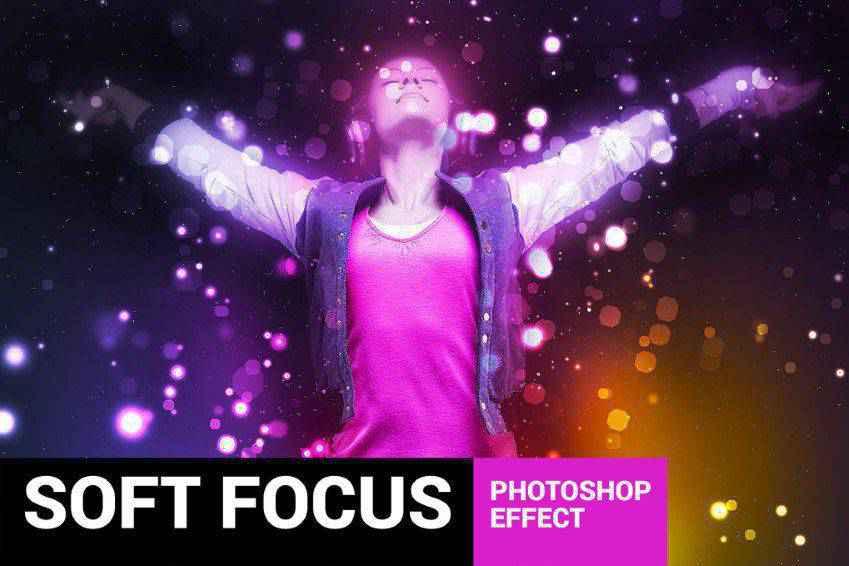 Brightum Soft Focus Photoshop Action