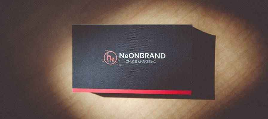 A stack of business cards.
