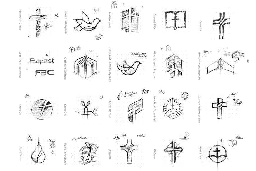 Logo Explorations by Eddie Lobanovskiy
