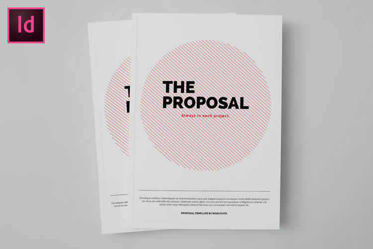 Example from 10 Free InDesign Business Proposal Templates