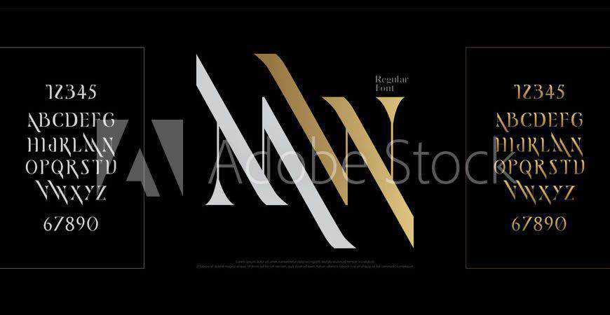 Elegant Alphabet logo font typeface logotype
