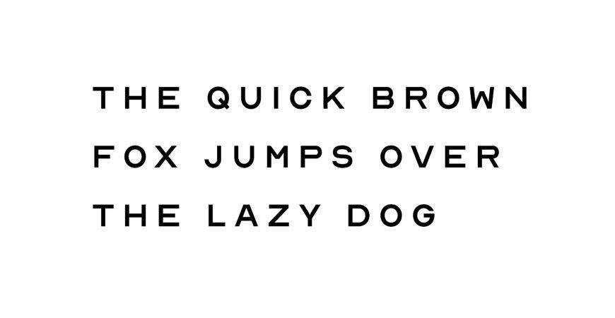 Nord Minimal Display logo font typeface logotype