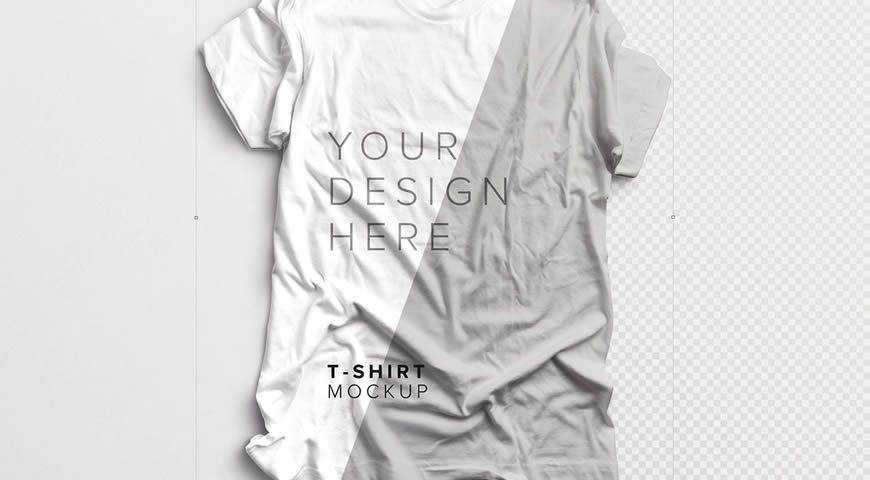 T-Shirt Photoshop PSD Mockup Template