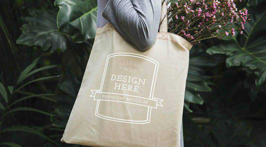 Free clean white box with. 20 Realistic Tote Bag Mockup Psd Templates For Photoshop