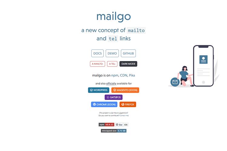 Example of mailgo