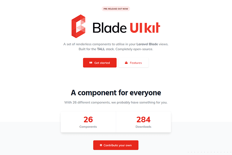 Example from Blade UI Kit